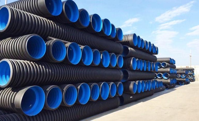 高密度聚乙烯HDPE双壁波纹管